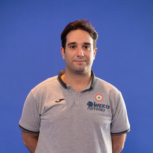 Assistente allenatore Valerio Lionetti