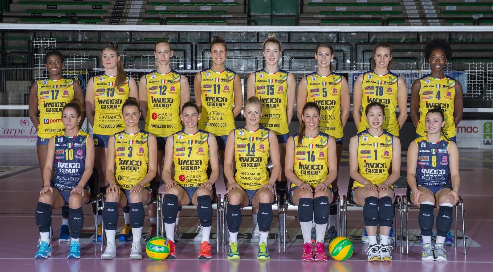 Igor Volley Calendario.Roster Imoco Volley 2018 19 Imoco Volley Conegliano