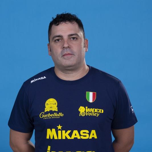 Assistente allenatore Milo Zanardo