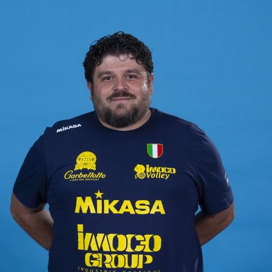 Secondo allenatore Alessio Simone