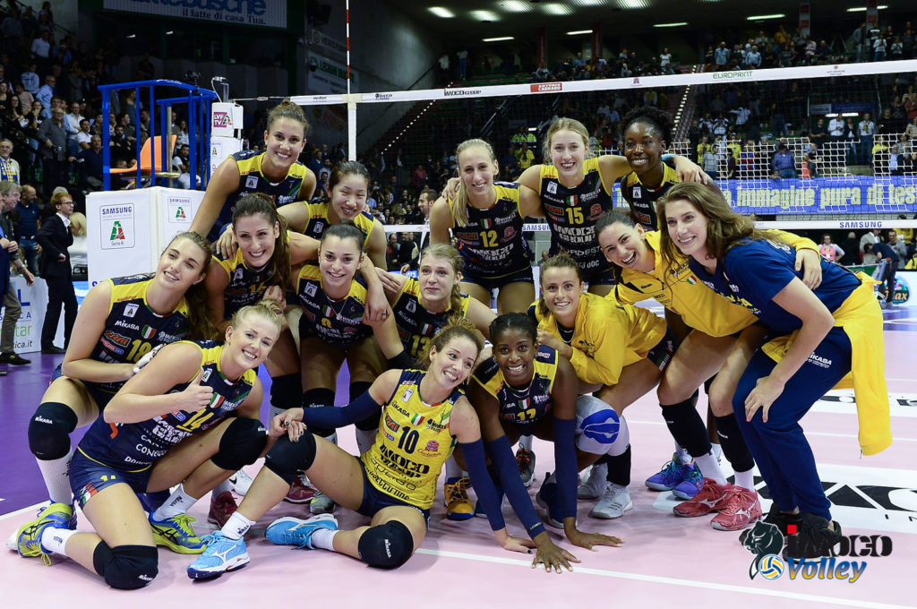 IMOCO VOLLEY DOMENICA A CHIERI PER CONTINUARE LA STRISCIA VINCENTE