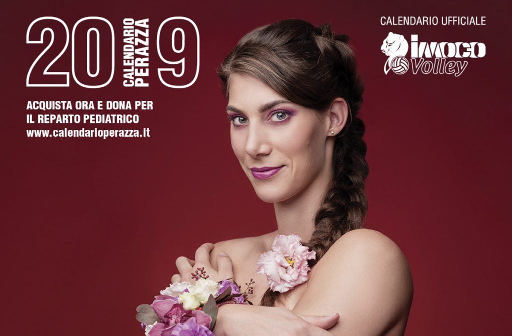 IL CALENDARIO IMOCO VOLLEY 2019 DI STUDIO PERAZZA