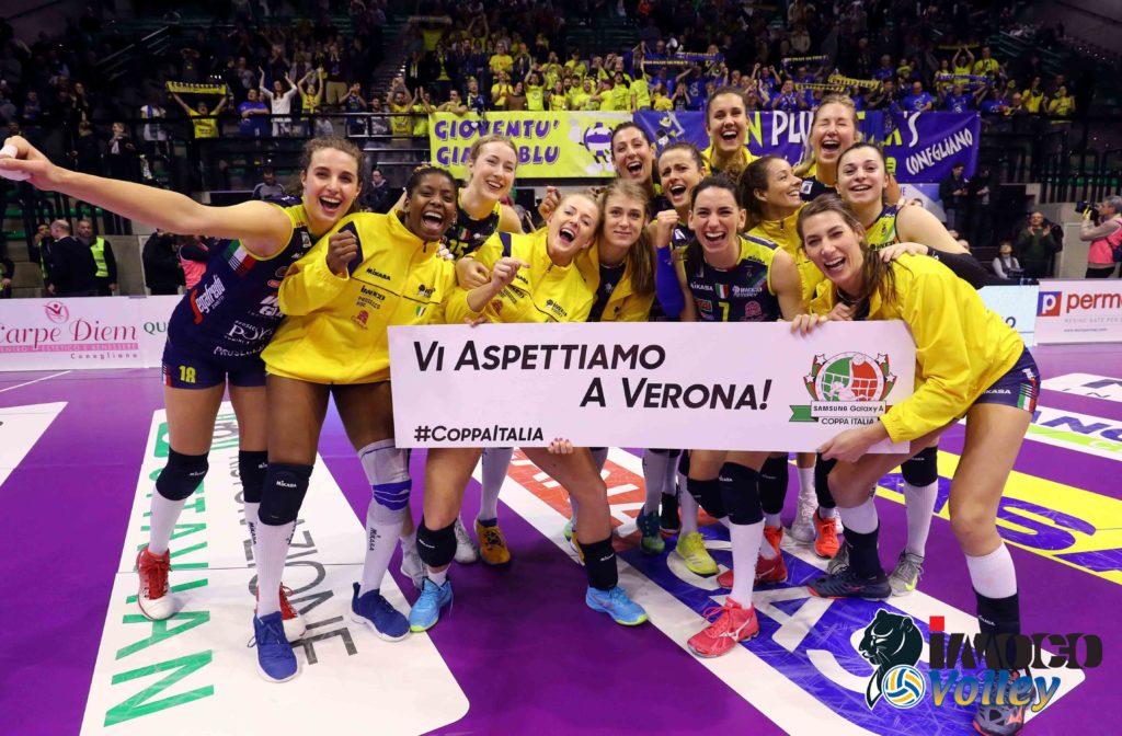 PANTERE ALLA FINAL FOUR DI VERONA! MONZA ANCORA BATTUTA (3-1) AL PALAVERDE!