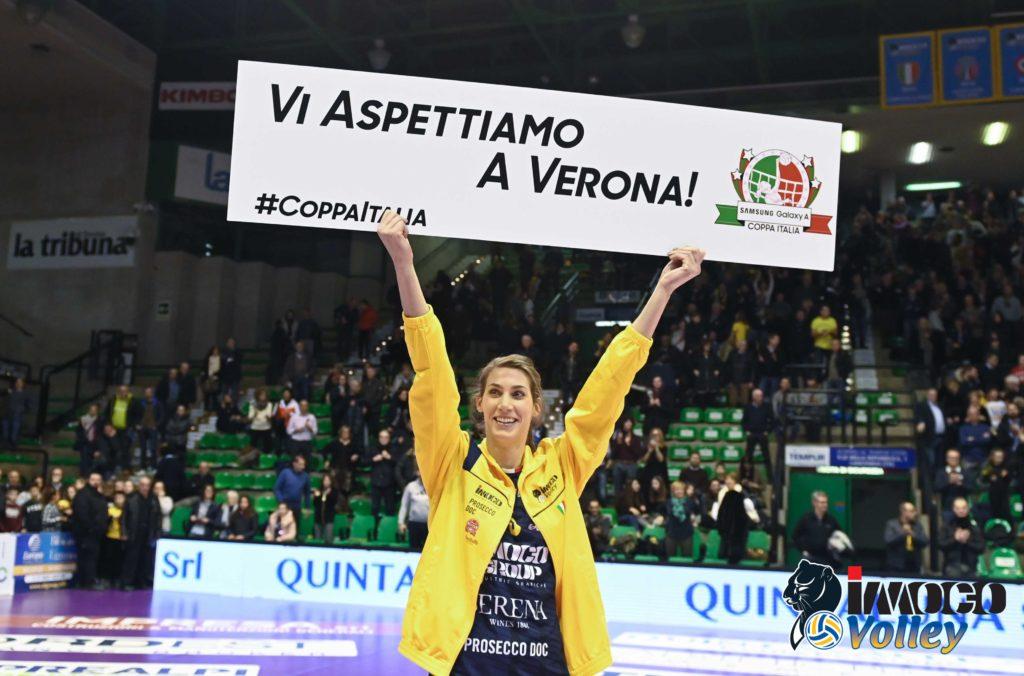 FINAL FOUR COPPA ITALIA, APERTA LA PREVENDITA PER VERONA (2/3 febbraio)!