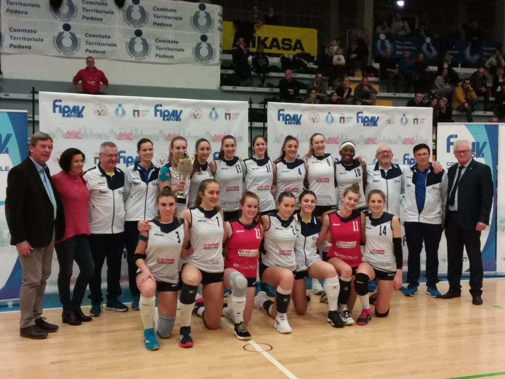 "UNDER 16 IMOCO VOLLEY POOL PIAVE, TRIONFO AL ""CAMPESAN"" DI ABANO"