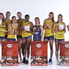 """Segafredo Zanetti nella """"squadra"""" degli sponsor di Imoco Volley!"""