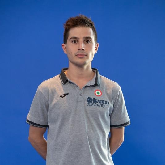 Assistente preparatore atletico Matteo Sfriso
