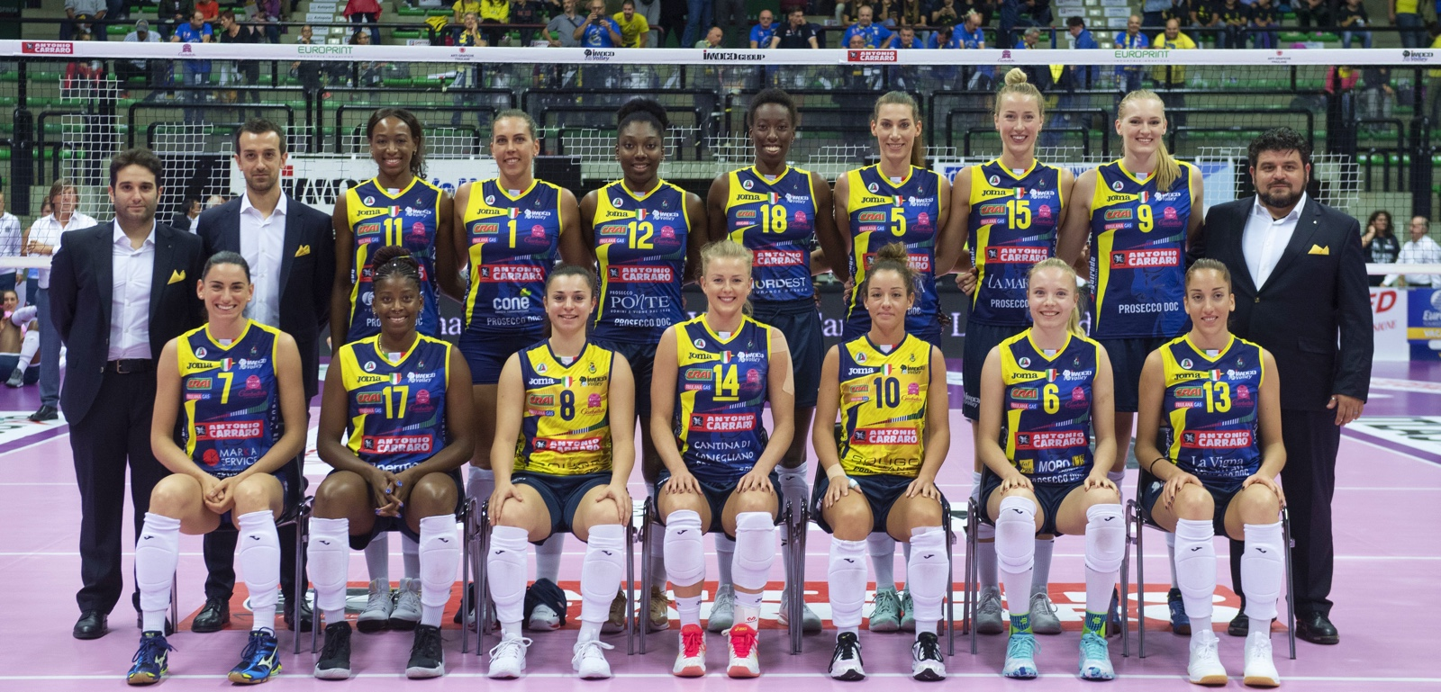 Roster Imoco Volley 2019-20