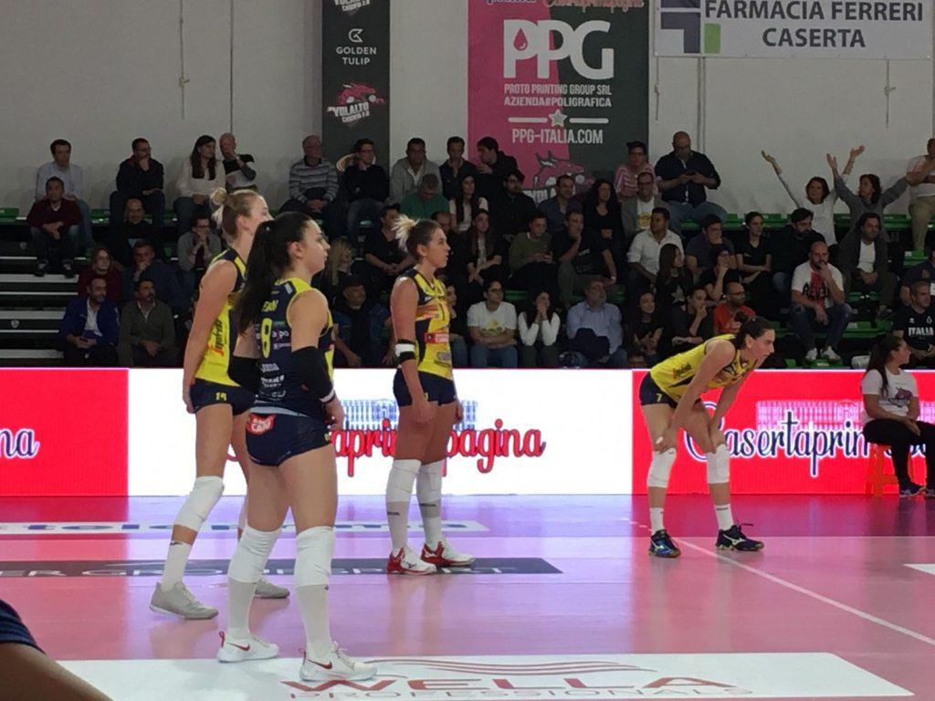 LE PANTERE SUDANO MA VINCONO 3-2 A CASERTA