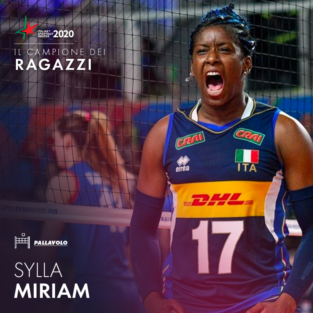 ITALIAN SPORTRAIT AWARDS 2020 – IN GARA ANCHE MIRIAM SYLLA!
