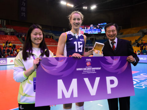"KIMBERLY HILL ANCORA PANTERA!  ""MISS MVP"" COMPLETA L'IMOCO VOLLEY 2020/21"