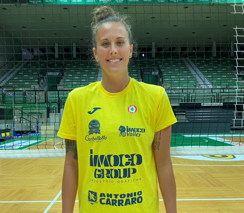 "MCKENZIE ADAMS, IL NUOVO ""MARTELLO"" USA DI IMOCO VOLLEY "" SONO UNA ""TEAM PLAYER""!"""