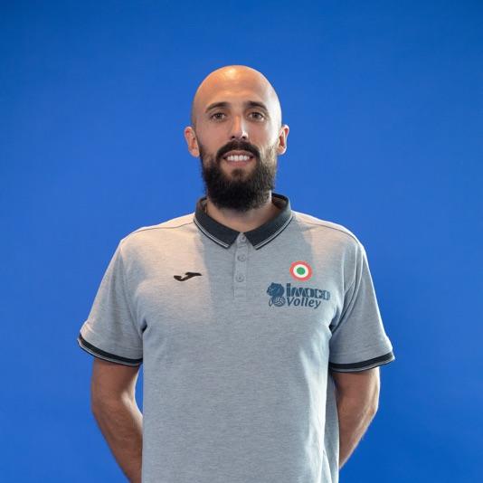 Assistente allenatore Martino Volpini
