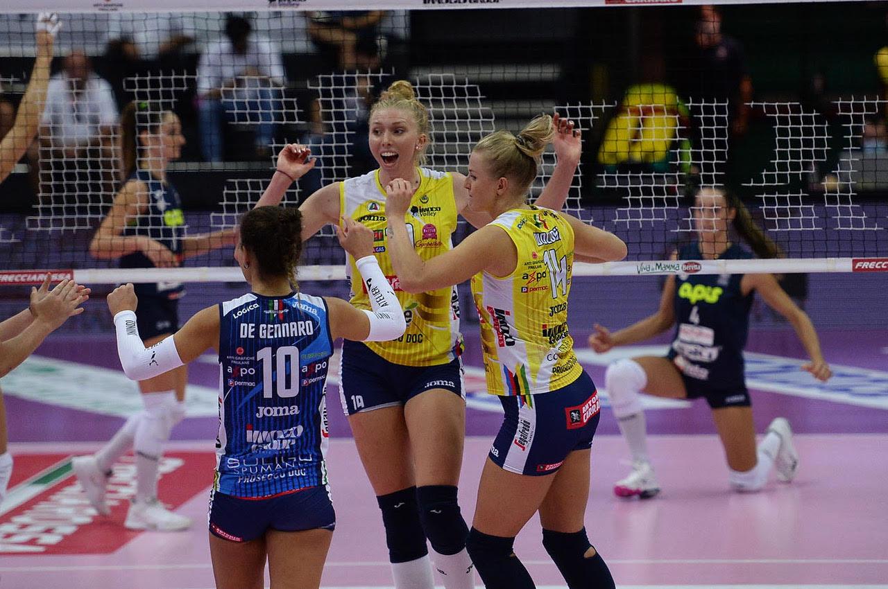 Imoco Volley Conegliano vs VBC èpiù Casalmaggiore