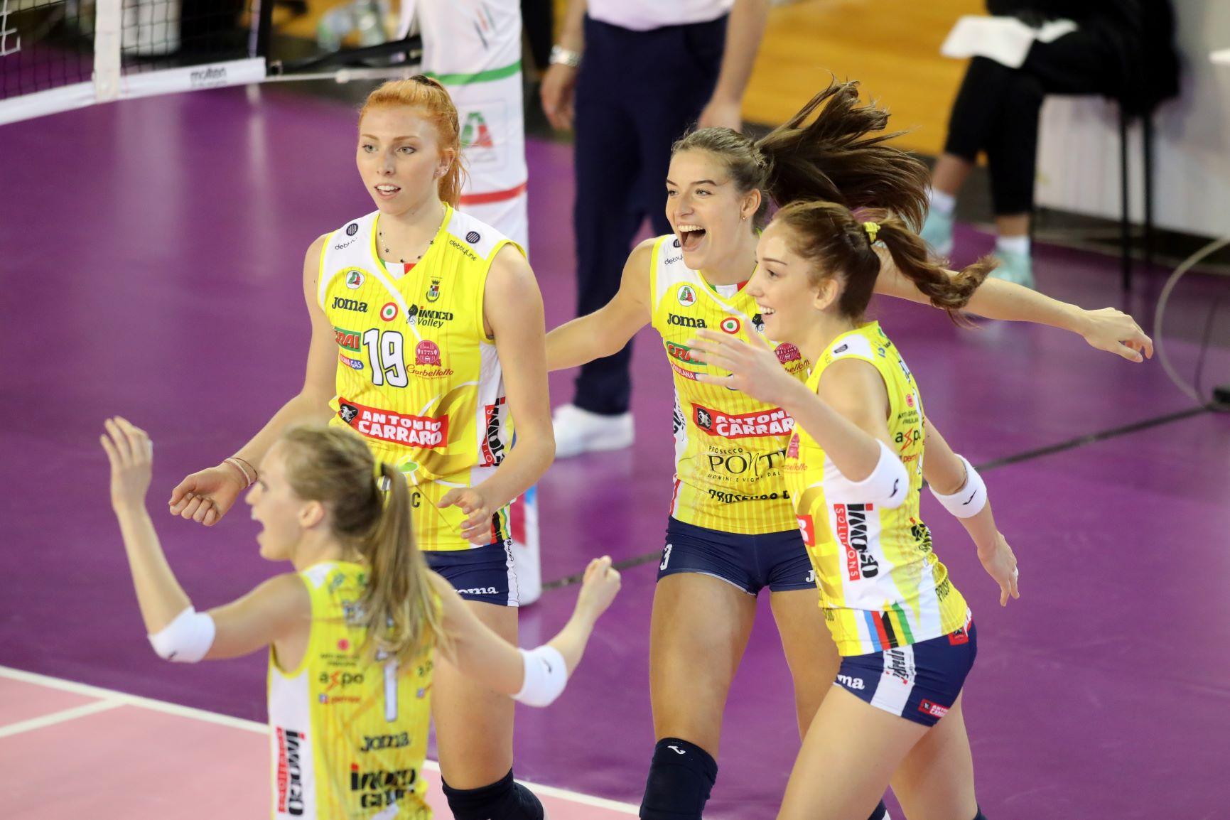 Banca Valsabbina Millenium Brescia vs Imoco Volley Conegliano