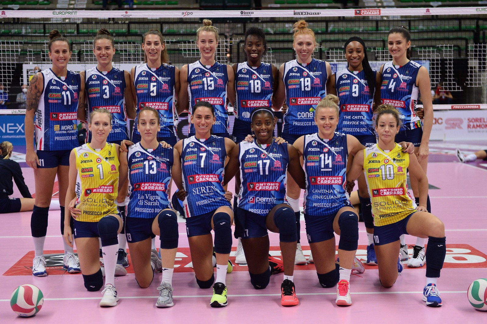 Roster Imoco Volley 2020-21