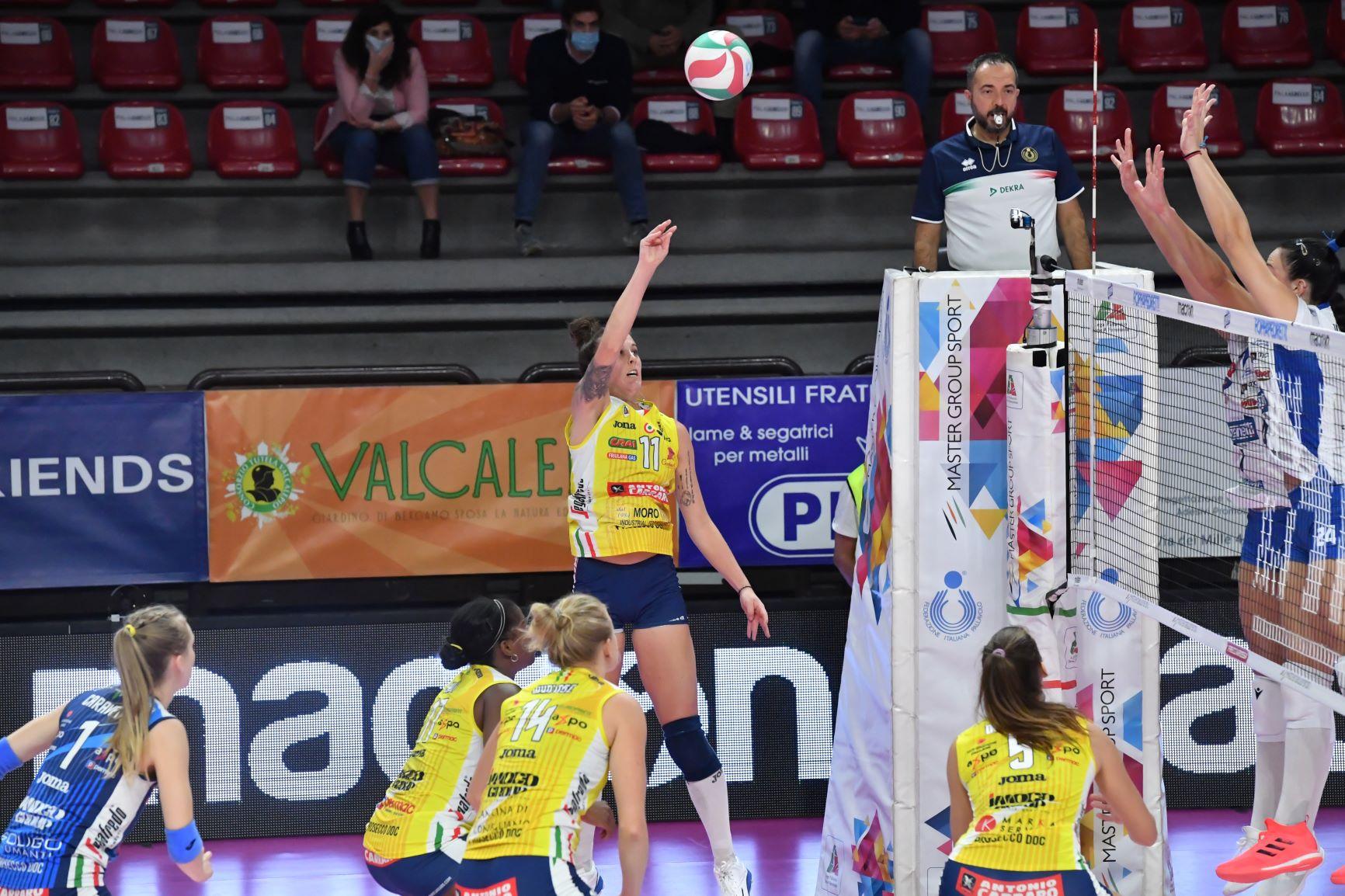 Zanetti Bergamo vs Imoco Volley Conegliano
