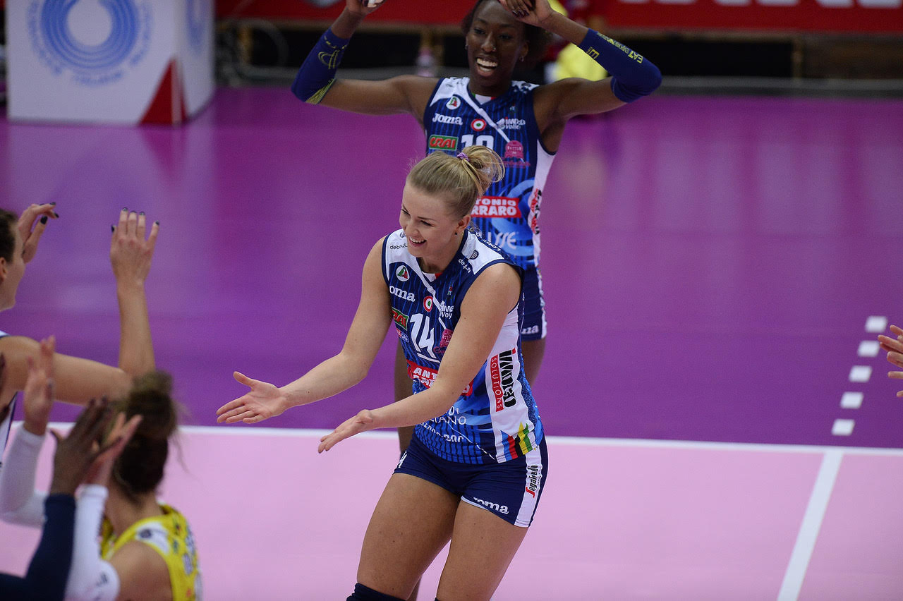 Imoco Volley Conegliano vs Delta Despar Trentino