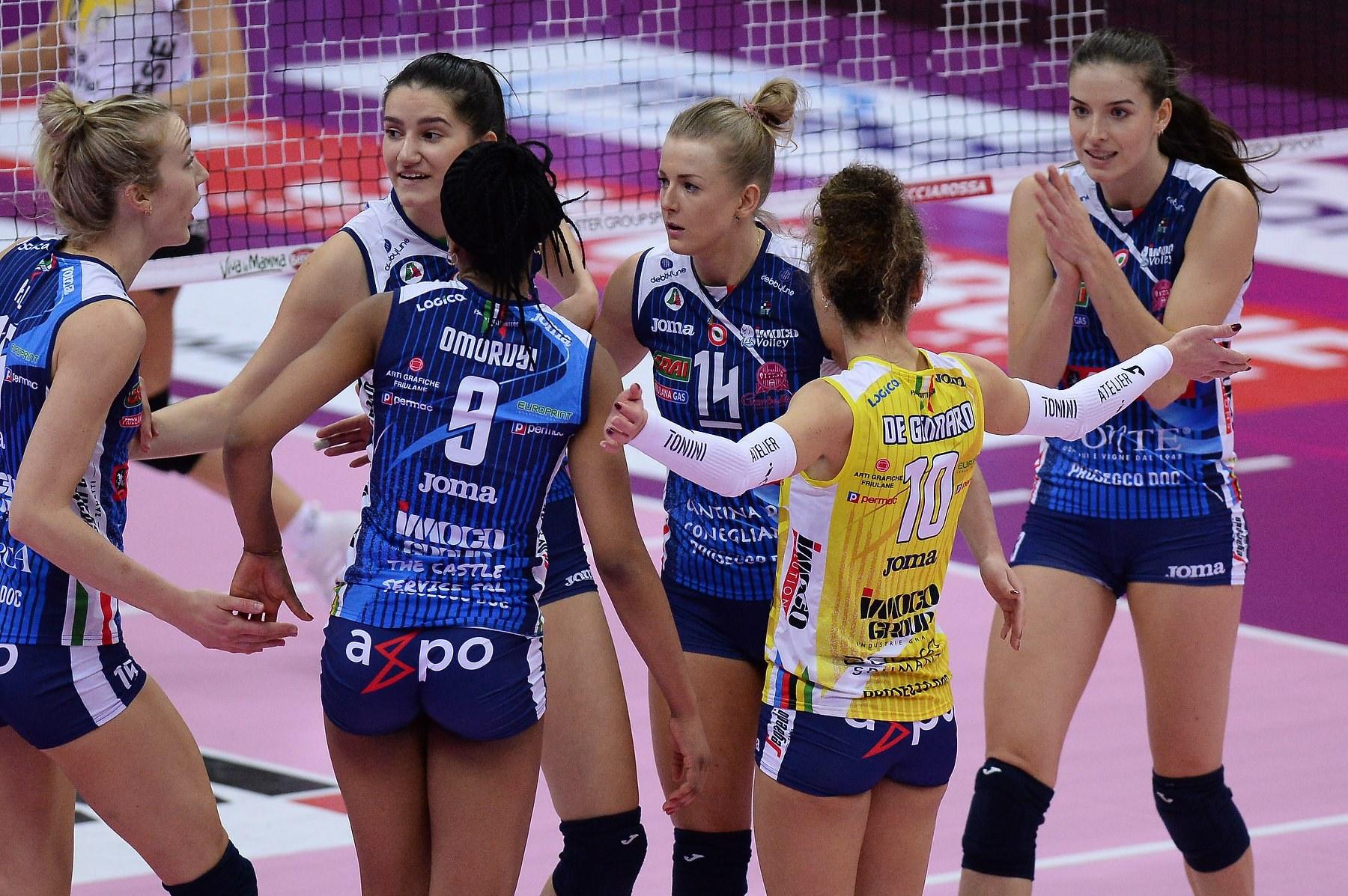 Imoco Volley Conegliano vs Banca Valsabbina Millenium Brescia