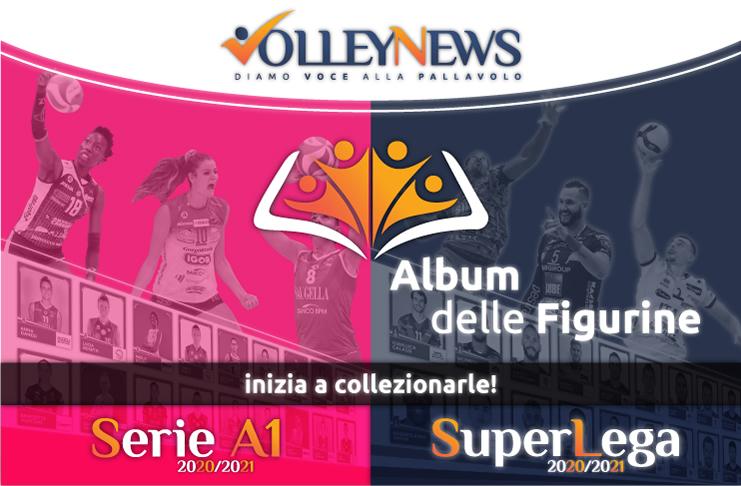 """L'ALBUM DI FIGURINE """"VIRTUALI"""" DI SERIE A1 FEMMINILE E SUPERLEGA!"""