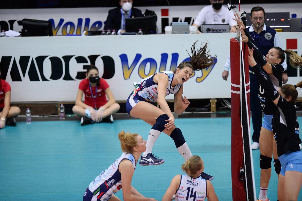 Calcit Volley KAMNIK vs Imoco Volley Conegliano