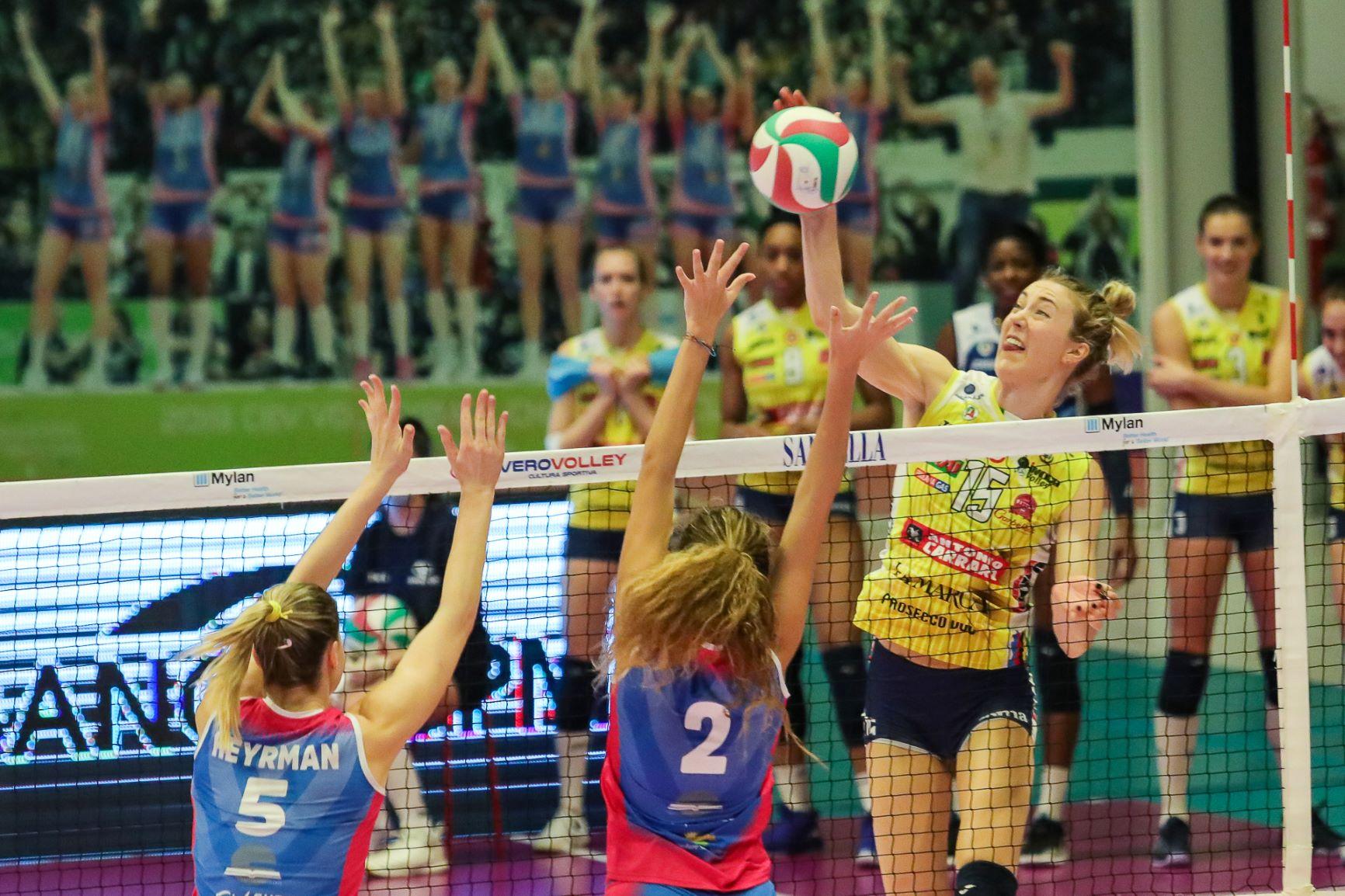 Saugella Monza vs Imoco Volley Conegliano