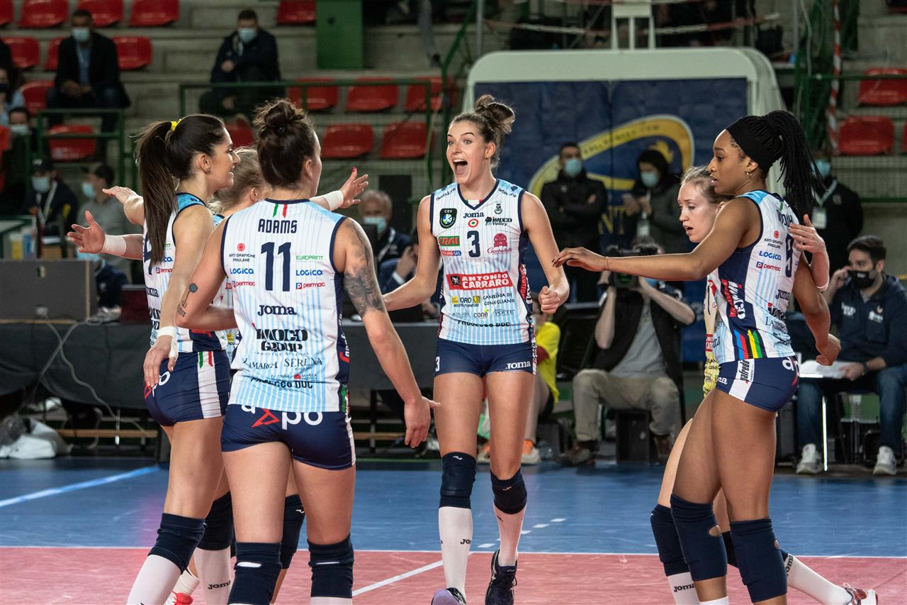 Calcit Volley KAMNIK vs Imoco Volley Conegliano