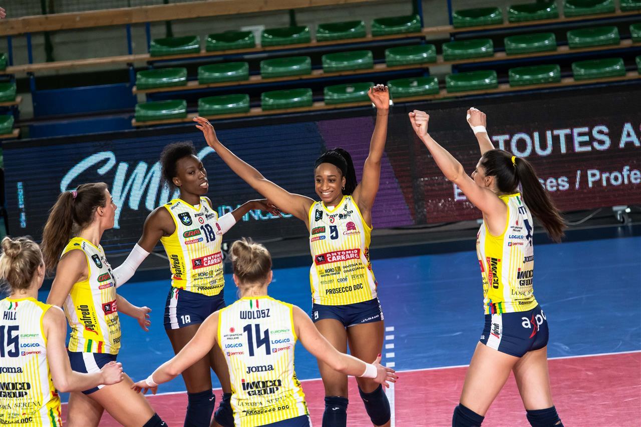Imoco Volley Conegliano vs NANTES VB