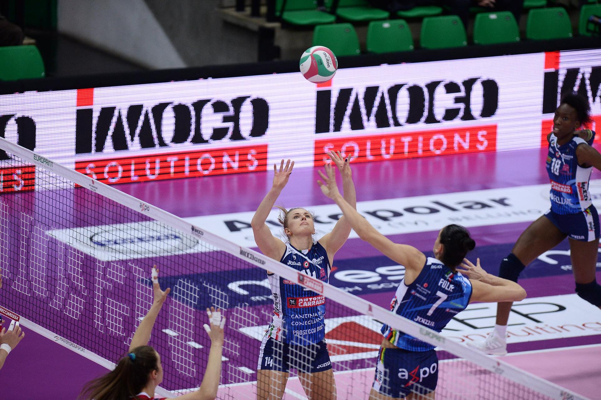 Imoco Volley Conegliano vs Zanetti Bergamo