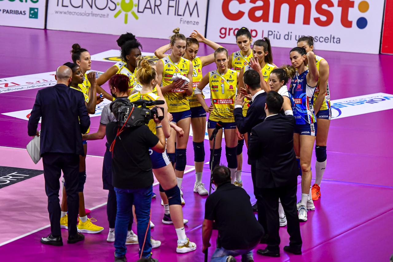 Il Bisonte Firenze vs Imoco Volley Conegliano