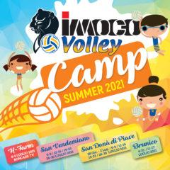 UN'ESTATE per RIPARTIRE : il programma degli IMOCO Volley Summer Camp 2021! 12 SETTIMANE DI SPORT E DIVERTIMENTO PER I RAGAZZI/E