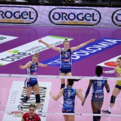 FINAL FOUR DI COPPA ITALIA FRECCIAROSSA – DOMANI A RIMINI LA SEMIFINALE CON LA SAUGELLA MONZA (h.18, Rai Sport HD)