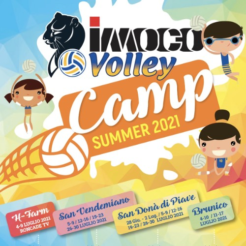 Imoco Volley Camp 2021