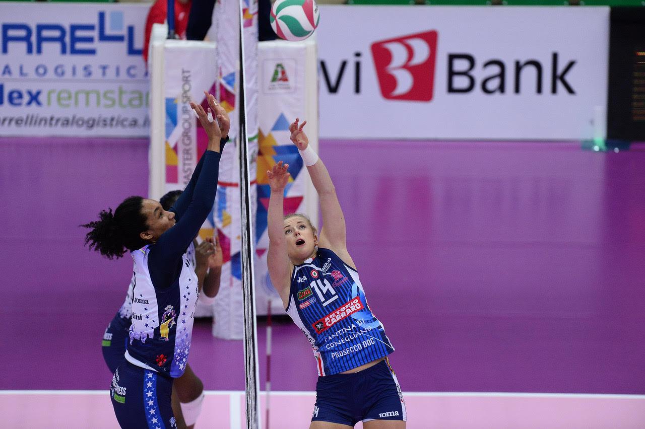 Imoco Volley Conegliano vs Il Bisonte Firenze