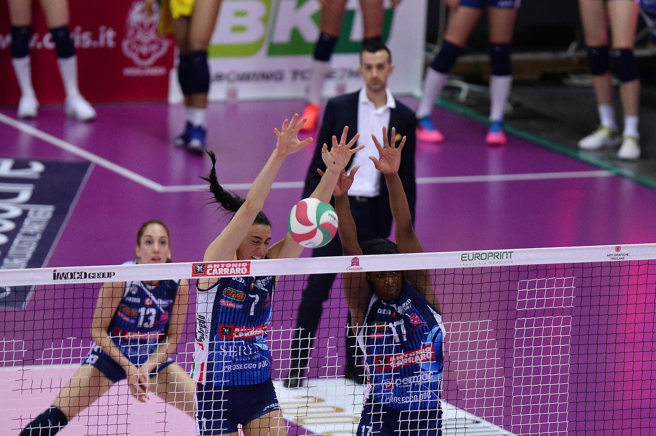 Imoco Volley Conegliano vs Unet E-Work Busto Arsizio