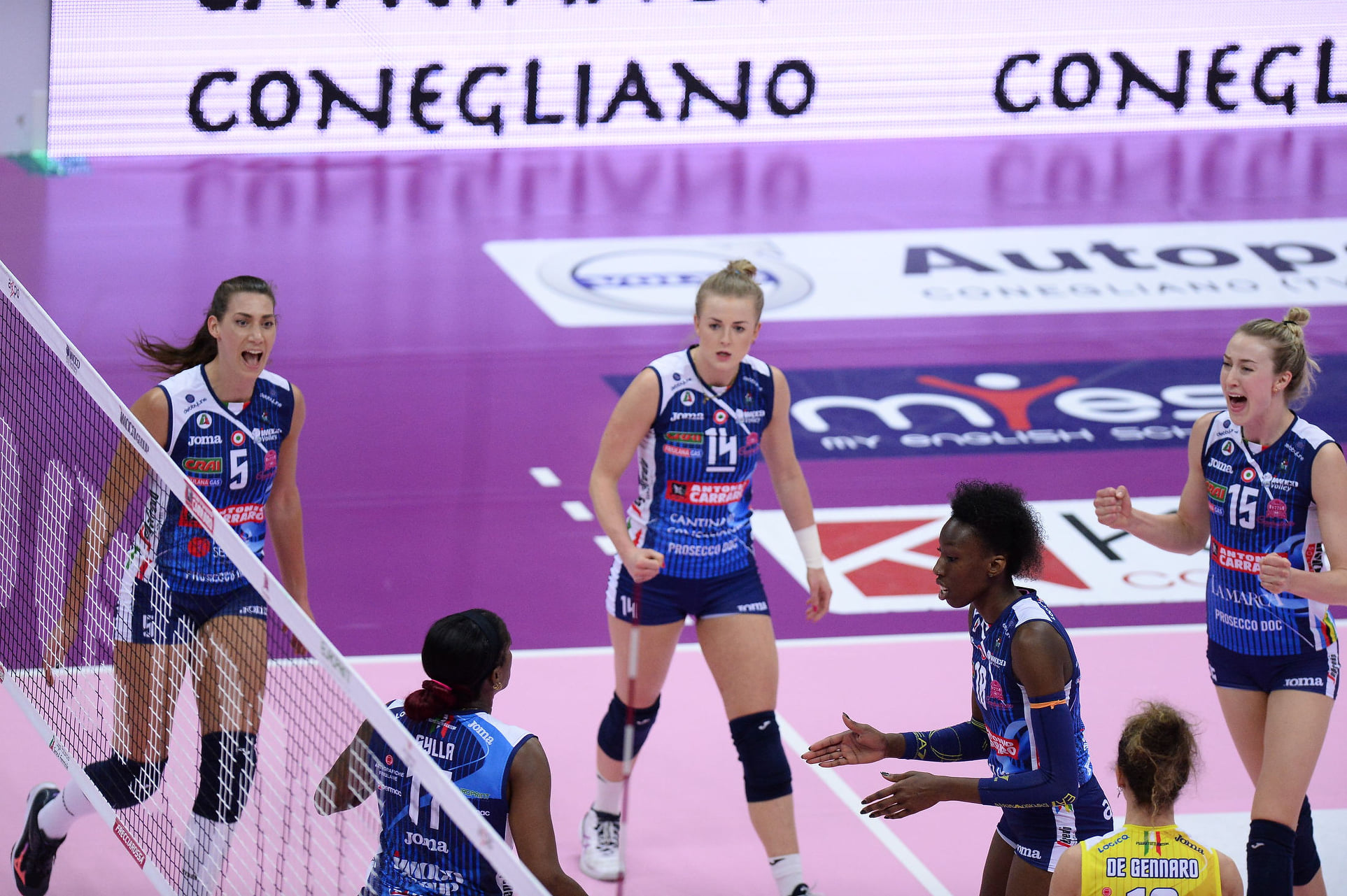 Imoco Volley Conegliano vs Savino Del Bene Scandicci