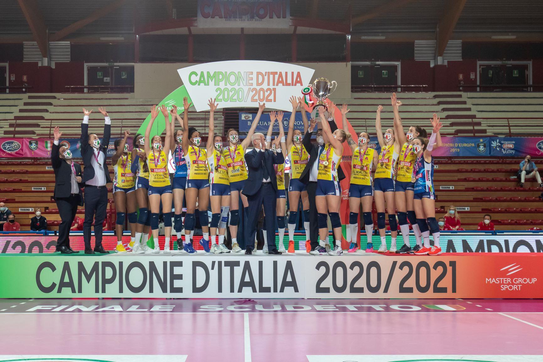 Igor Gorgonzola Novara vs Imoco Volley Conegliano