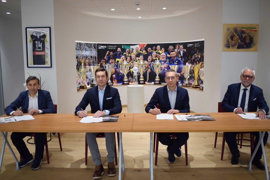 Joma e Imoco Volley ancora insieme! Joma e Imoco Volley rinnovo della partnership per ulteriori tre stagioni.