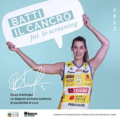 """IMOCO VOLLEY ANCORA AL FIANCO DI ULSS2: """" GIOCARE D'ANTICIPO PER BATTERE IL CANCRO"""""""